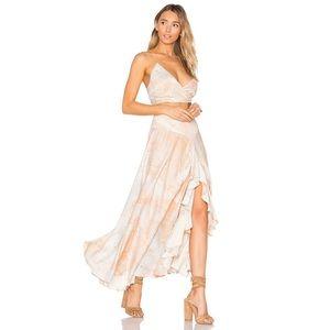 NWOT Free People Gardenia Maxi Skirt